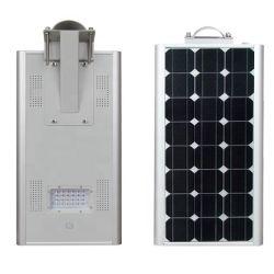 60W LED de baixo preço exterior 60W todos em uma rua com luz solar Pole