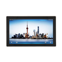 15.6 polegadas Painel Industrial Android PC Tablet Metal Industrial Sem Ventilador computador tablet