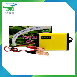 12V 24V 8un coche eléctrico en bicicleta de litio cargador de batería de polímero de litio/