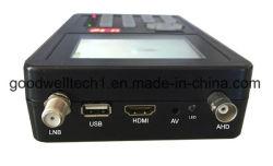 """3.5"""" a televisão digital com suporte para monitor LCD de testes de câmaras CCTV"""