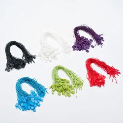 Modifica di plastica variopinta di caduta della stringa della guarnizione per l'imballaggio dell'indumento (DL58-1)