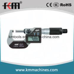 Grado de protección IP65 0-25mm Display digital electrónico Micrómetro exterior
