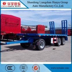 2/3/4 di asse 2 Lowbed pieno/basso caricatore/della barra di traino del veicolo del camion rimorchio a base piatta semi