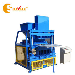 Ly4-10 sol argileux entièrement automatique machine à fabriquer des briques de bloc de verrouillage pour la vente