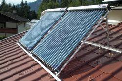 L'antigel à haute efficacité tuyau thermique du tube de dépression panneau solaire avec Solar Keymark