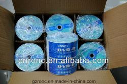 Gute Verpackung von DVDR 4.7GB 120min DVDR unbelegtes 1-8X/1-16X mit preiswertestem Preis