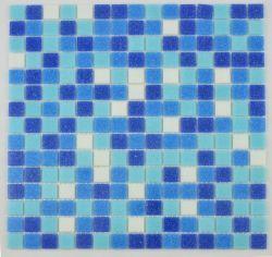 Сетка стекла Melt сини океана плитки мозаики гостиницы используемая бассеином классическая смешанная