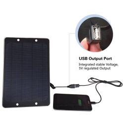 6W 태양 전지판 DC USB 휴대용 이동 전화 iPhone iPad 컴퓨터 건전지 태양 충전기 중국