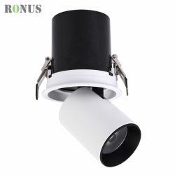 LED-PFEILER 12W, der 360 Grad justierbare Downlight Punkt-Licht-Qualitäts-Standardlampen-Decken-Innenscheinwerfer beleuchtet