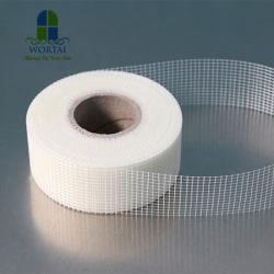 C-fils de fibre de verre de type maille en fibre de verre de cloisons sèches pour la construction de bandes commune autoadhésif