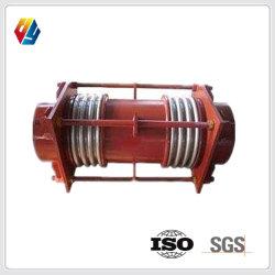 Conduit d'air/ compensateur du tuyau de canal pour station d'alimentation Fossil-Fuel chaudière avec support fixe