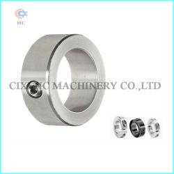 Eje de acero inoxidable DIN705 Collar con el tornillo de fijación