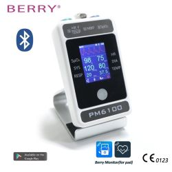 Nouveau design Super Super promotion de l'équipement médical de plusieurs paramètres du moniteur patient Palm (PM6100) Ce approuvé