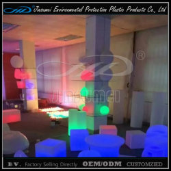 LED 40cm 50cm Cube Lighting Furniture met BV