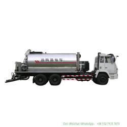 De Verdeler van het Asfalt van Shacman 12t (Intelligente Pijpen 30 de Tank 8000-12000L&#160 van de Verdeler van het Asfalt van het Asfalt van Nrs.; Het geïsoleerder Bitumen van de Nevel 4.5 -6 meters))