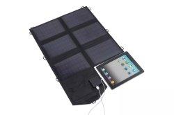 accumulatore per di automobile pieghevole del calcolatore portatile di CC del USB del comitato solare 60W che piega caricatore solare