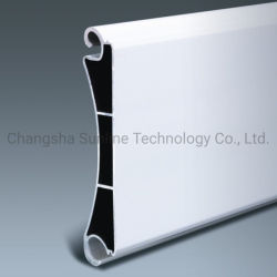 Aluminiumhurrikan-Blendenverschluss-Latten des strangpresßling-Profil-120mm für industrielle Walzen-Tür