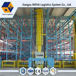 تخزين Warehouse التلقائي مع تسابق من Jiangsu Nova racking