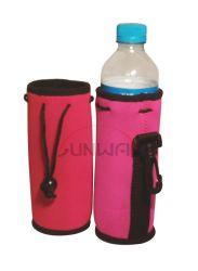 Bebidas personalizadas bebida portátil de neopreno deporte portador de la botella de agua del refrigerador (BC0004)