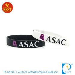 Custom Top ventes logo imprimé Bracelet en caoutchouc de silicone gravé Fashion Smart Sport USB Bracelet en silicone