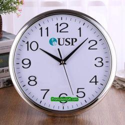 12 orologio di parete silenzioso decorativo di plastica promozionale del quarzo di pollice 30cm