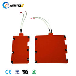 12V 24V 48V Silicone Rubber Ceramic PAD Heater met Ce UL RoHS Certificate