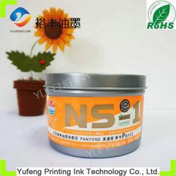 De fluorescente het Drogen van Pantone P804c Oranje, Hoge Glanzende Snelle Milieubescherming van de Drukinkt van de Compensatie (Het Merk van de Bol)