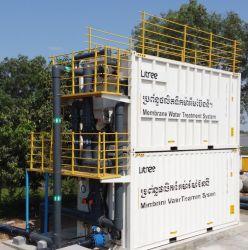 Equipamento de ultrafiltragem conteinerizada 4000 fábrica do Filtro de Água Pura Gpd
