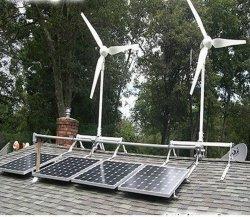 del vento solare 150W centrale elettrica ibrida 400W