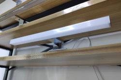 Conception carrée lampe LED IP44 Salle de bains miroir de maquillage pour le bain de lumière Cabinet Smart miroir mural étanche 220V en entrée 300/400/500mm de longueur