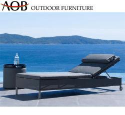 Junto a la piscina al aire libre moderno hotel de playa Muebles de Salón Fabric tumbona reclinable Silla de playa