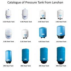 De Tank van de Druk van de Opslag van het Water van de Behandeling van het Water van het plastiek en van het Staal voor de Zuiveringsinstallatie van het Water RO