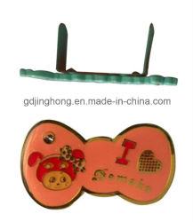 Kundenspezifische Gunmetal Debossed Zink-Legierungs-Metallplattenmetallplaketten-Metallzeichen