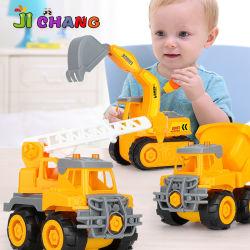 Camión de la excavadora juguetes Cars vehículos de Ingeniería de simulación de la inercia de la excavadora de juguete de coche