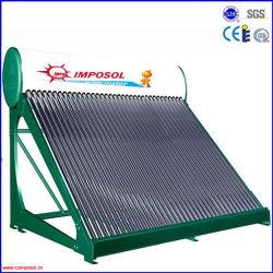 Утвержденные Solar Keymark давление солнечных водонагревателей с 40трубки