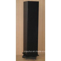 Plancher de quatre côtés permanent Présentoir en métal Spinner Affichage Rack (PHY2037)