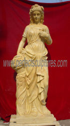 Ornamento di pietra intagliato del giardino della statua della scultura con l'arenaria di marmo del granito (SY-X1152)
