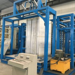 Energie - EPS van de besparing Machine van de Productie van de Machine van het Comité van de Muur van de Sandwich van het Cement de Samengestelde