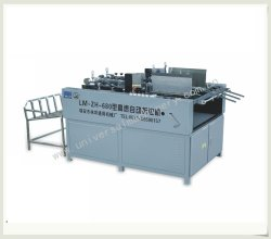 Caja de papel automática completa pegando la máquina (LM-ZH-680)