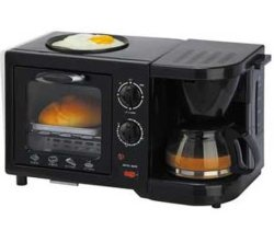 3 in 1 Electric Oven Breakfast Maker Coffee Maker