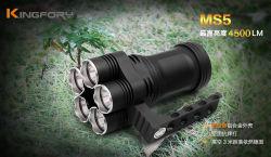 Ms5 Multifunktionstaschenlampe der 4500 Lumen-bewegliche Superhelligkeits-LED