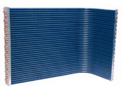 Bobina Condensatore Di Tipo A Aletta In Rame Per Unità Di Refrigerazione