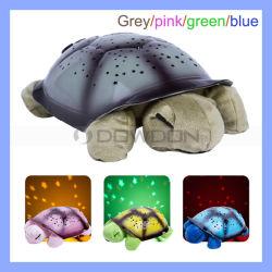 Los niños juguetes de la noche de la tortuga 4 canciones de Música de la luz de lámpara de proyector de estrellas del cielo de estrellas