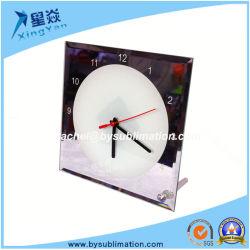 폰타이터 유리 포토프레임 승화 시계