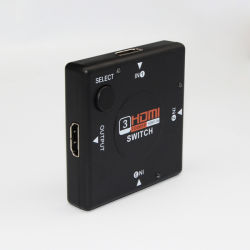 1080P hoge MiniSwitcher HDMI van de Definitie 3X1