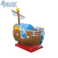 Giro in nave con altalena nel parco divertimenti Kiddie Coin