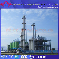 몰두 카사바 라이스 옥수수 원료 알코올/에탄올 디스틸링 장비 알코올/에탄올 생산 프로젝트