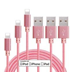 Оптовая торговля 2.4A нейлоновой оплеткой USB зарядное устройство для синхронизации данных аксессуары для мобильных ПК