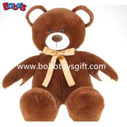 Самый мягкий плюшевый медвежонок младенца Brown с тесемкой был выдвиженческим подарком
