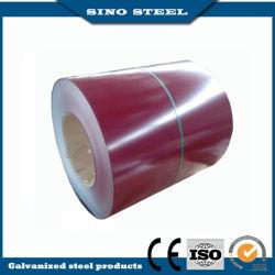 Couleur SGCC enduits en bobines en acier galvanisé PPGI Strip
